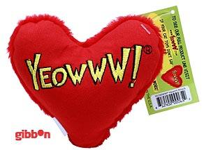 Yeowww heart catnip